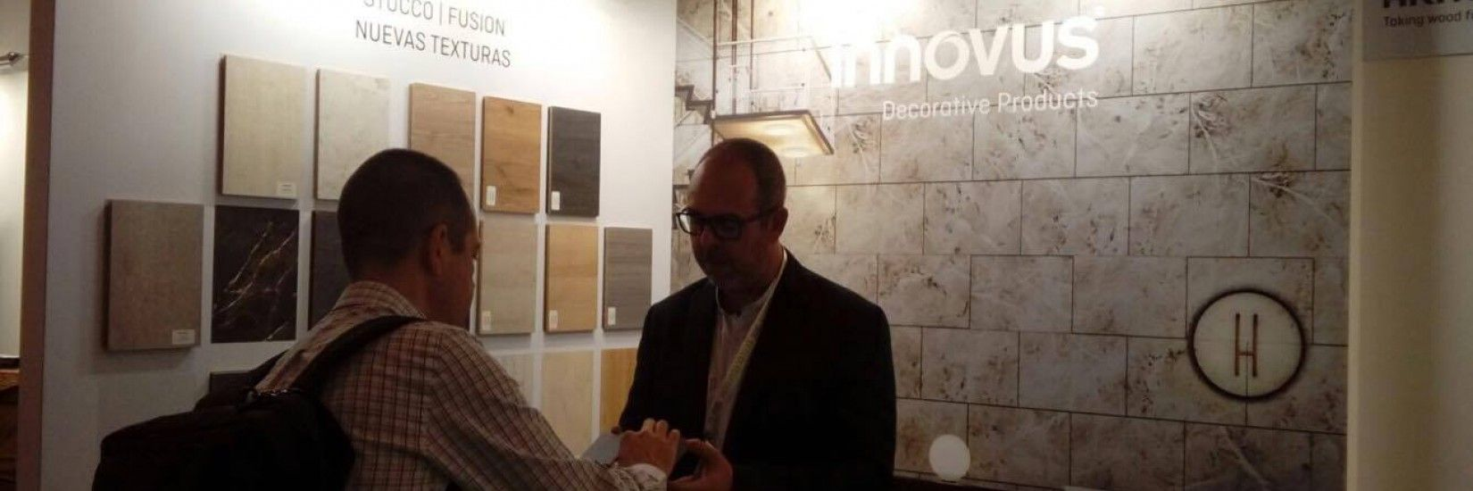 Sonae Arauco presents the new Innovus finishes in the biggest fair (hotel design) of south Europe