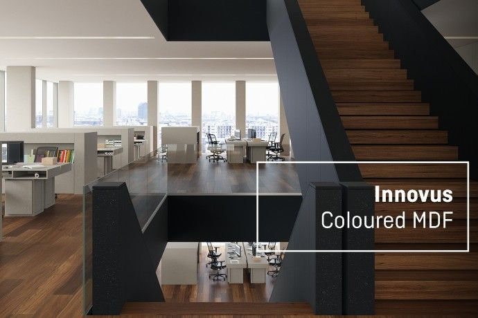 The modernity and sustainability of Innovus Coloured MDF