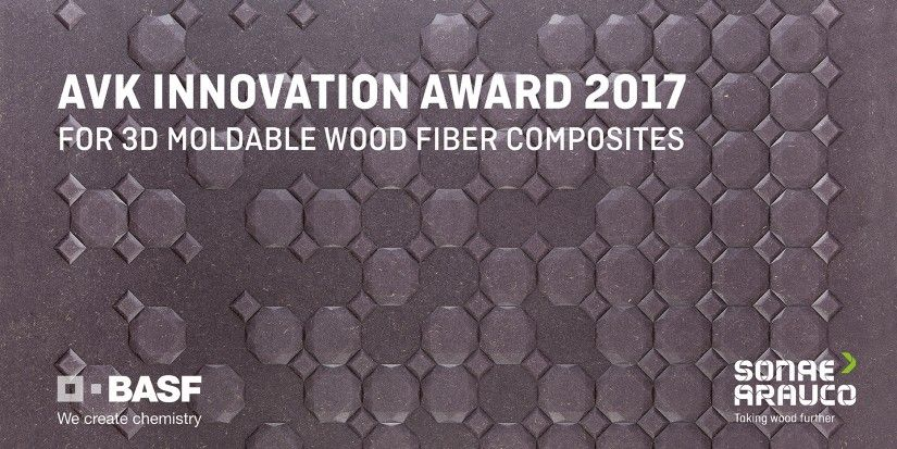 Sonae Arauco and BASF honoured at the AVK Innovation Awards