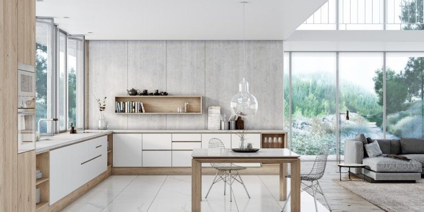 White kitchens: concurrent megatrend and classic