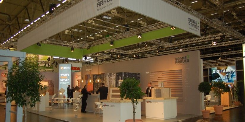 A successful event: Branchentag Holz with Innovus and Agepan system