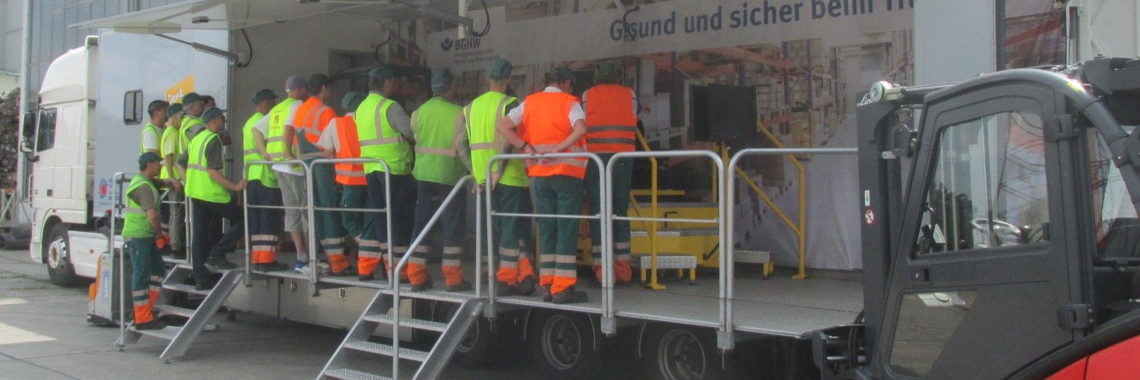 Health and Safety issues at first hand