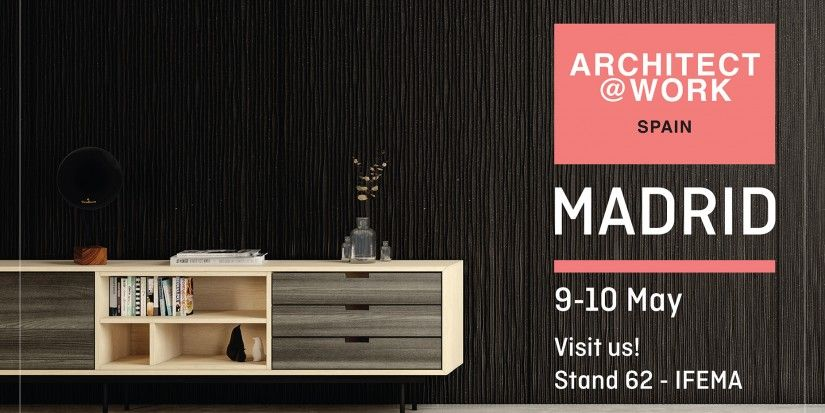 Sonae Arauco exhibits Innovus collection at Architect@Work Madrid