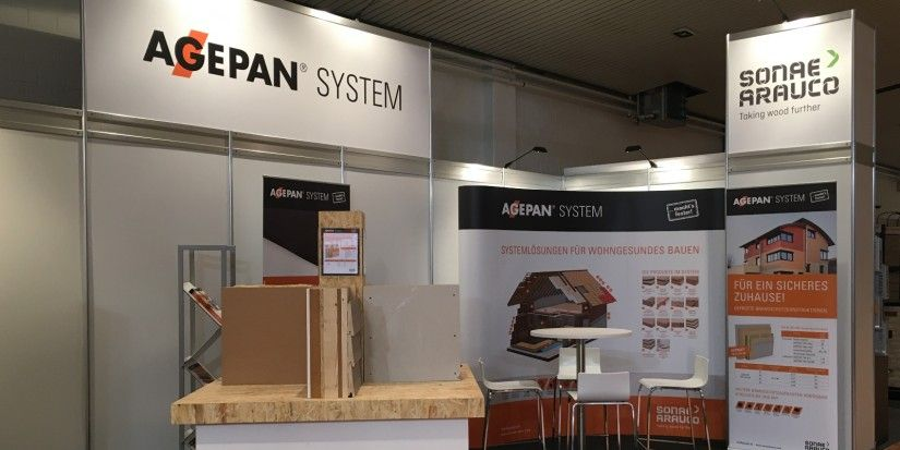 AGEPAN® SYSTEM for the first time  at the HAUS® construction fair