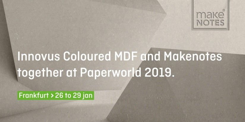 Makenotes with Innovus stand at Paperworld 2019