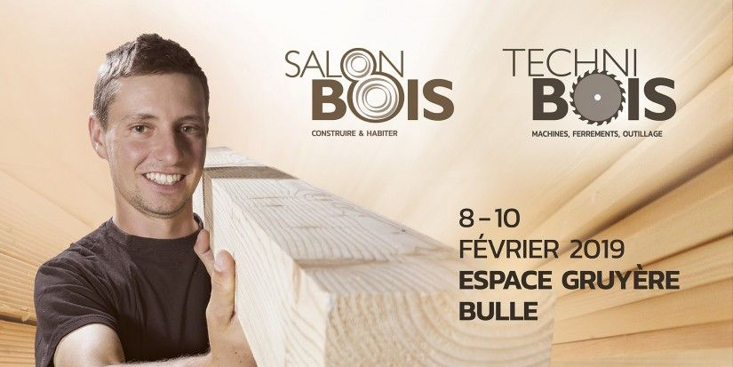 Visit us at Salon Bois / Techni Bois