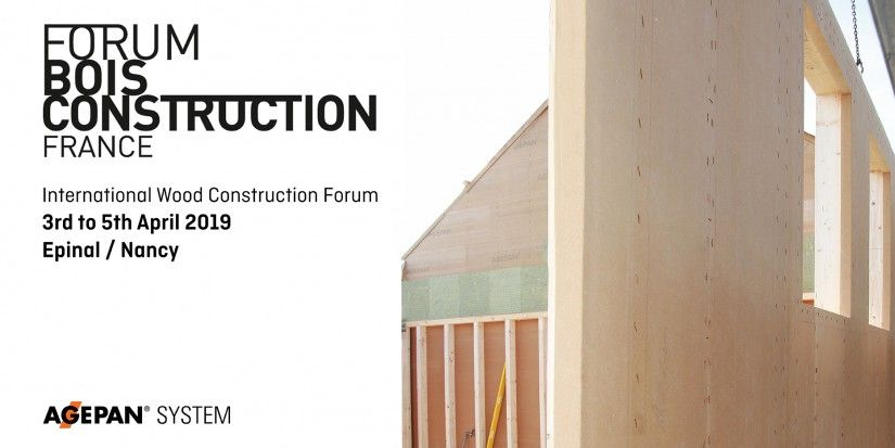 AGEPAN® SYSTEM again  at the International Wood Construction Forum