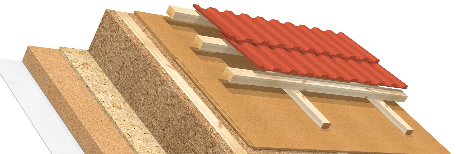 Full rafter insulation AGEPAN® DWD protect